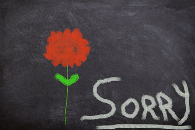 Il regalo originale di Claudio per chiedere scusa dei propri errori